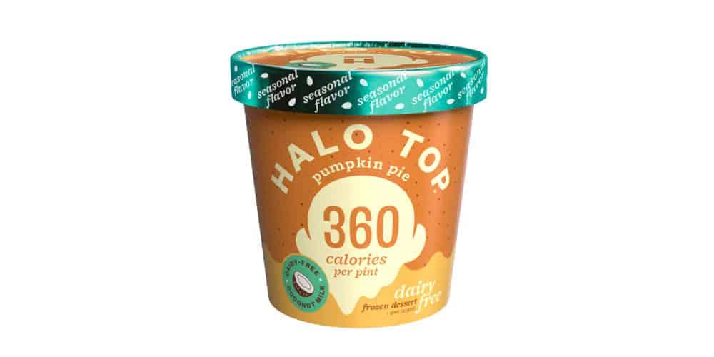 What is Halo top pumpkin pie