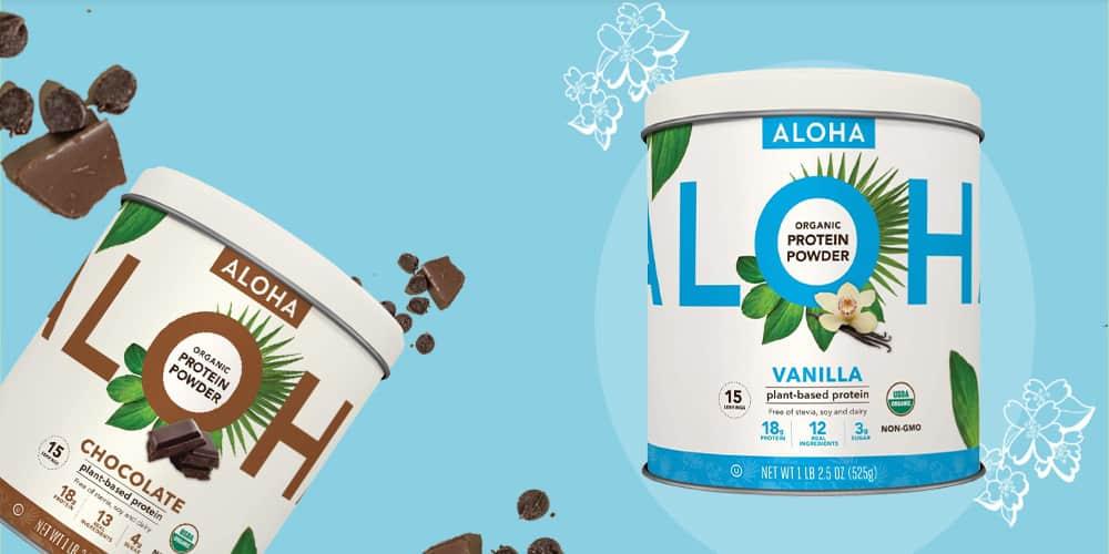 Aloha Plant-Based Protein Powder