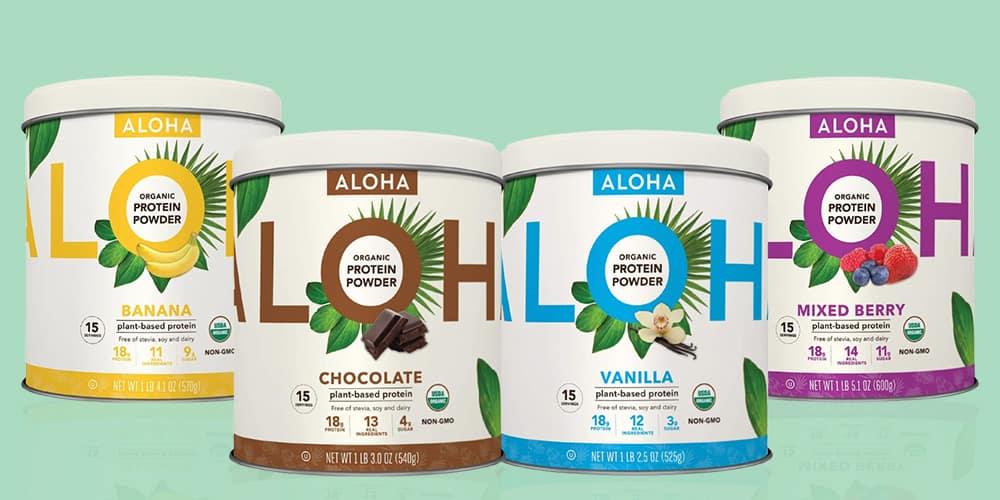 Aloha Protein Powder Flavors
