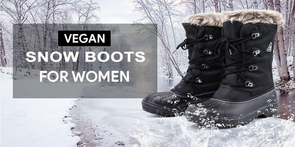 Vegan Snow Boots For Women