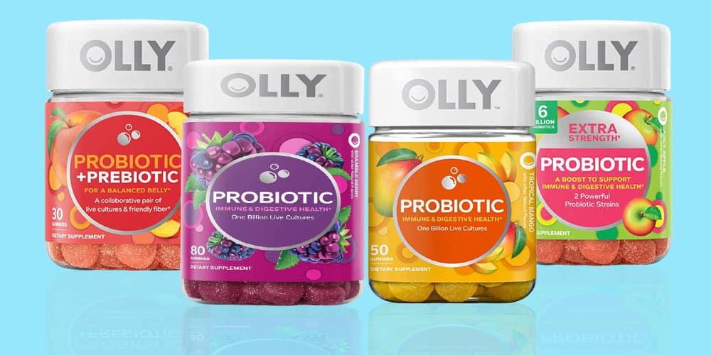 Olly Probiotic Gummies Flavors