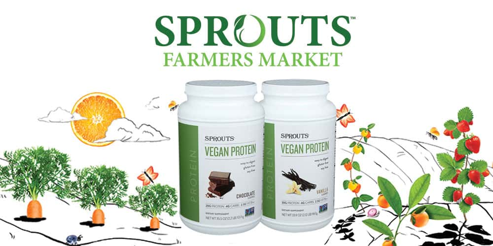 Sprouts Vegan Protein Powder Review