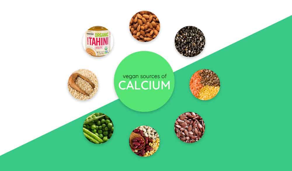Vegan Food Sources of calcium