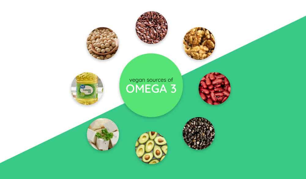 Vegan sources of Omega 3s