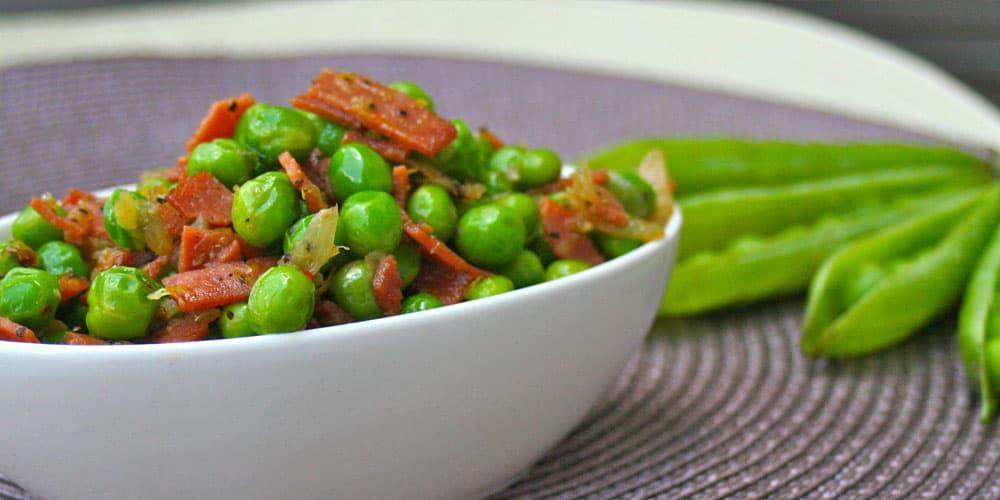 Vegan Green Peas Salad