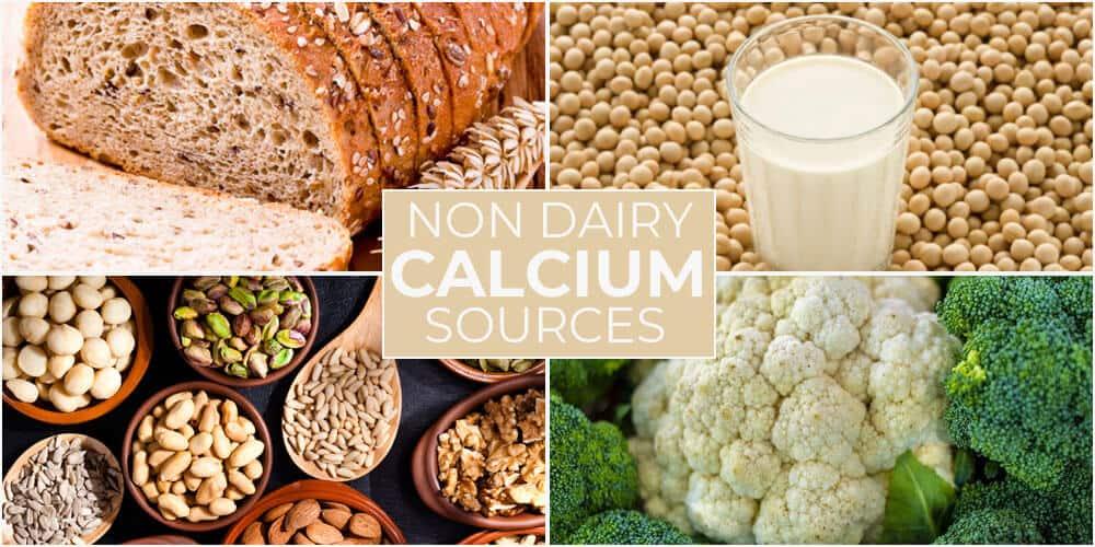 Non Dairy Calcium Sources