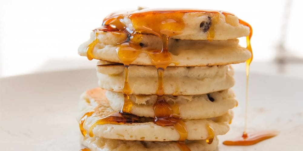 3 Ingredient Vegan Banana Pancakes