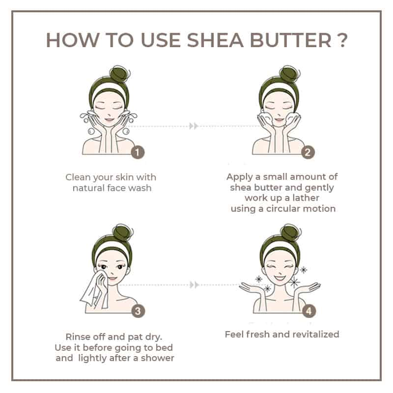 How to use shea butter