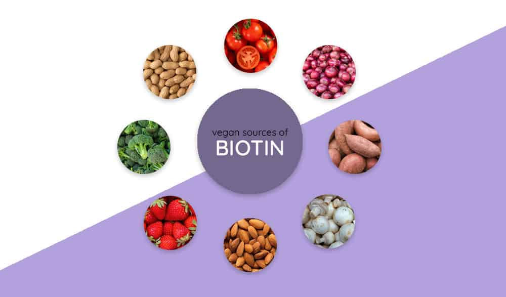 biotin rich vegan foods