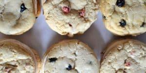 Berries and Cream Sandwich Cookies