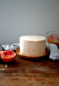 Broiled Grapefruit Cake
