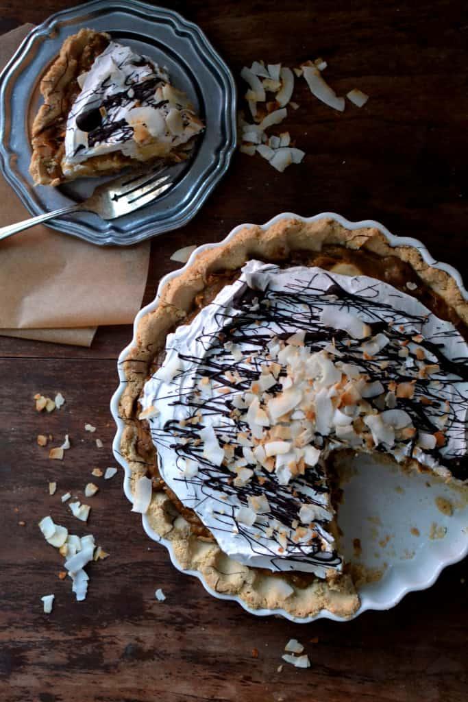 Gluten Free & Vegan Banana Cream Pie