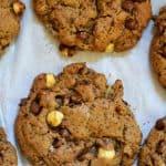 Hazelnut Mocha Spelt Cookies