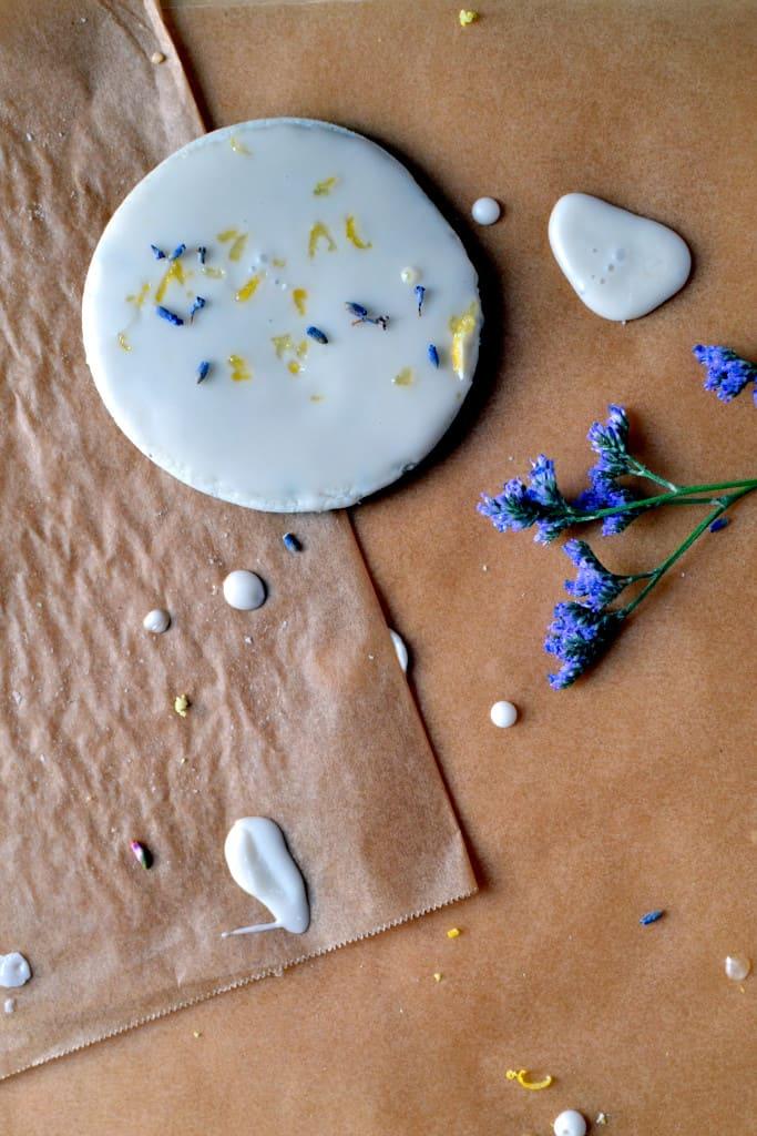 Lavender Lemon Sugar Cookies Without Butter