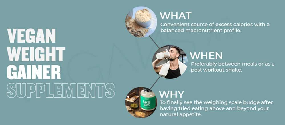 Vegan Weight Gainer Supplements