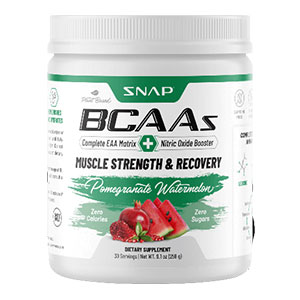 SnapSupplements BCAA Powder - Pomegranate Watermelon