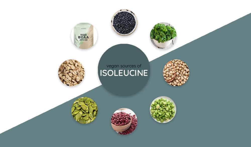 foods high in isoleucine