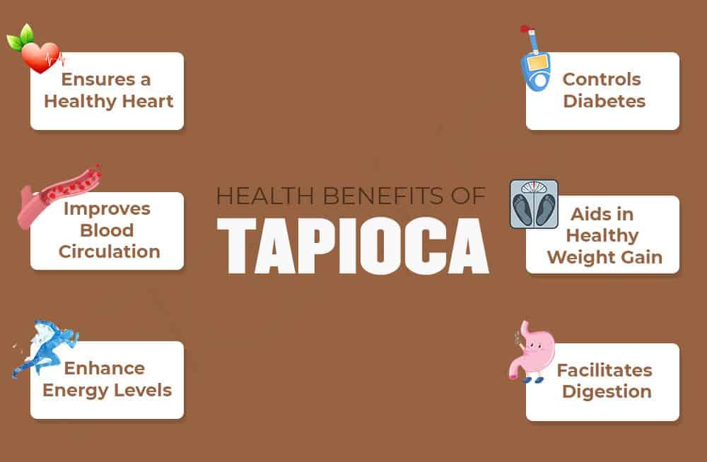 Health Benefits of Tapioca